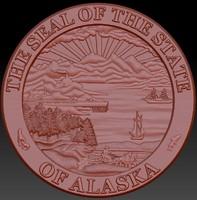 3d alaska seal s model