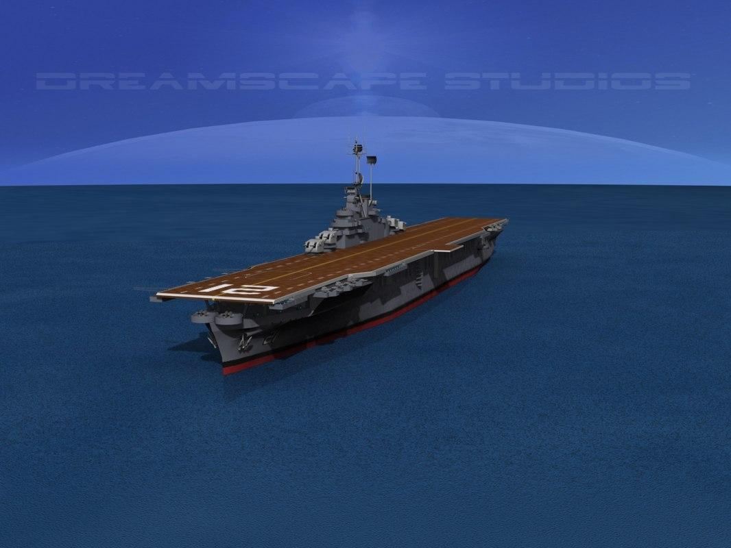 Anti Aircraft Class Carriers Ticonderoga Max