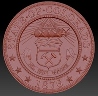 3d colorado seal s model
