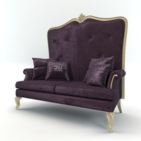 vogue sofa dv home 3d model
