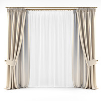 Curtains Gold 2