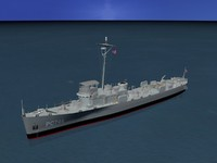 pcs class submarine chasers 3d model