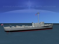 pcs class submarine chasers 3d max