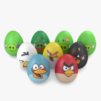 - egg easter angry fbx