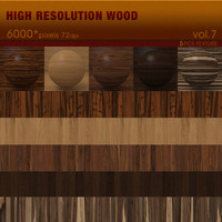 High Resolution Wood Textures Vol. 7 ( 5 PCS )