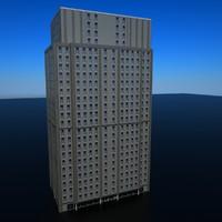 city building 3d x