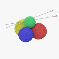 Wool ball 3