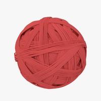 wool ball 3d max