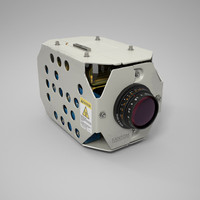 camera industrial 3d obj
