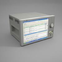 logic analyzer 3d model