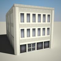 3d city building 22