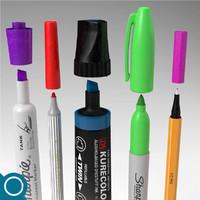 markers stabilo edding 3d max