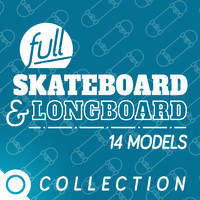 Skateboard & Longboard FULL Set