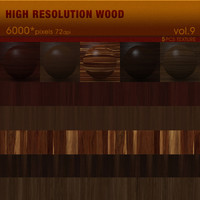 High Resolution Wood Textures Vol. 9 ( 5 PCS )