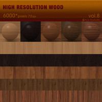 High Resolution Wood Textures Vol. 8 ( 5 PCS )
