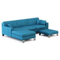 sofa italy 3d model