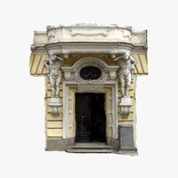 3d door 3 - old house