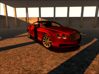 3d bentley luxury model
