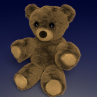 free teddy bear legs 3d model