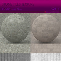 High Resolution Stone Tiles Texture Vol. 1 (2 PCS)