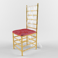 3d model wedding chair