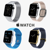 apple iwatch watch 3d 3ds