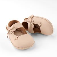 3d ballerina shoe model