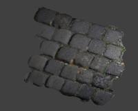 3d model tiles photoscaned
