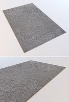 photorealistic carpets 3d model