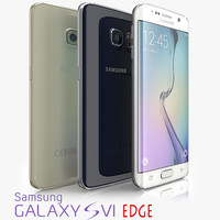 3d colors samsung galaxy s6 model