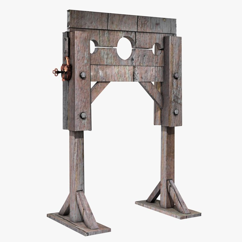 guillotine medieval 3ds