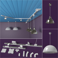 soffits ikea lamp 3d 3ds
