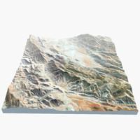 african mountain 3d model