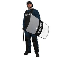 max rigged riot police officer