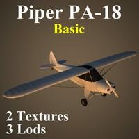piper basic 3d model