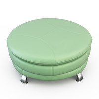 3ds max pouf lion