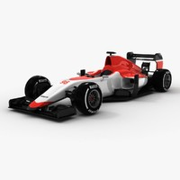 3d manor-marussia 2015 model