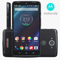 3d model motorola droid turbo ballistic