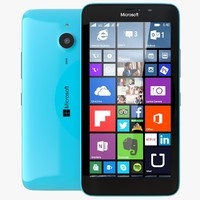 3d model microsoft lumia 640 xl