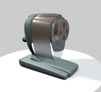 3ds max pencil sharpener