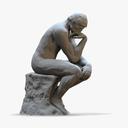 The Thinker 3D models
