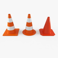 Traffic cone Collection (Street Elements)