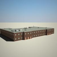 3d model city building