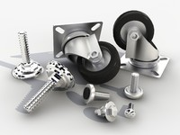 3d model fasteners bolts nuts