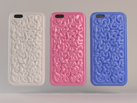 3ds max organic cell phone case