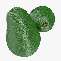 avocado 3 3d model