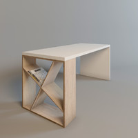 3d 3ds wood table