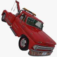 chevrolet c-20 tow truck 3d max
