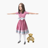 3ds max girl character