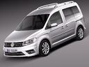 Volkswagen Caddy 3D models